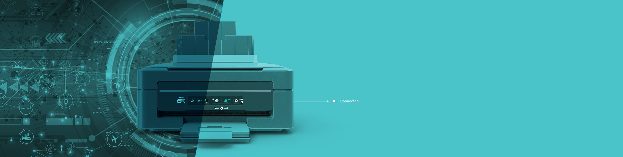 IoT Connected printer