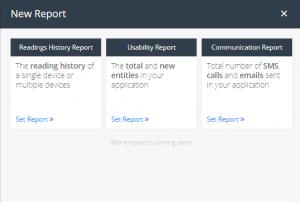 New Report window